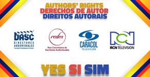 DASC e REDES assinaram com as redes Caracol e RCN para a coleta de direitos autorais na Colômbia