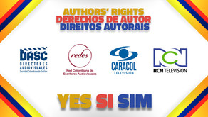 DASC and REDES signed with Caracol and RCN TV for the author´s rights collection