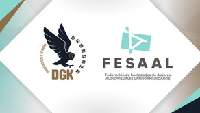 The Korean Directors sign an agreement as an adherent association of FESAAL