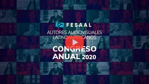 FESAAL Congreso Anual 2020 Autores Audiovisuales Latinoamericanos