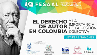 La OMPI y la FESAAL reunidas a favor de los Autores Audiovisuales Colombianos