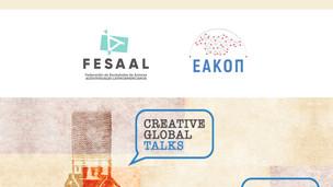"""FESAAL participó de la conferencia online """"Creative Global Talks"""""""