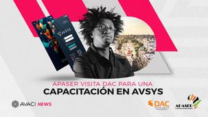 APASER visita DAC para una capacitación en AVSYS