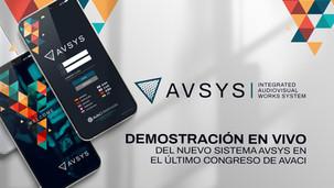 Demostración en vivo del nuevo sistema AVSYS en el último Congreso de AVACI