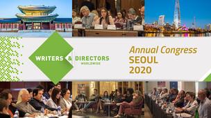 El Congreso Anual de Writers and Directors Worldwide se llevará a cabo en la ciudad de Seúl