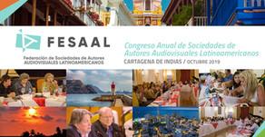 Novo Congresso Anual de Sociedades de Autores Latino-Americanos de Audiovisual FESAAL