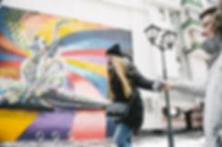 Отдых в сквере Майи Плесецкой в Москве.  Искусство вдохновляет на эксперементы.