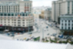 Фото улицы Москвы сверху