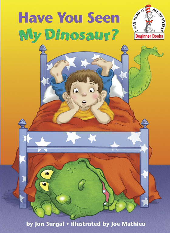 5 children's books about dinosaurs