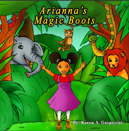 Arianna's Magic Boots Series