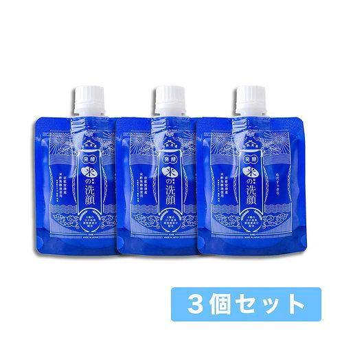 【送料無料】和肌美泉 発酵・米配合の洗顔 100g x 3個セット