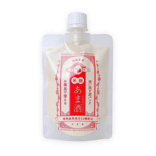 WAHADABISEN Japanese Herbal Face Pack -AMASAKE (Sweet Sake)