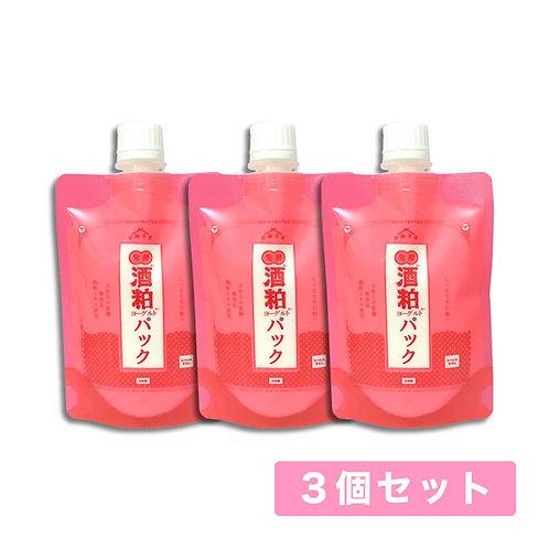 【送料無料】和肌美泉 発酵・酒粕ヨーグルトパック 150g x 3個セット