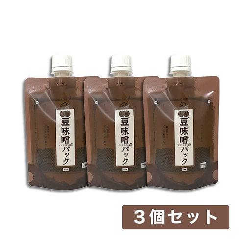 【送料無料】和肌美泉 発酵・豆味噌イソフラボンパック 150g x 3個セット