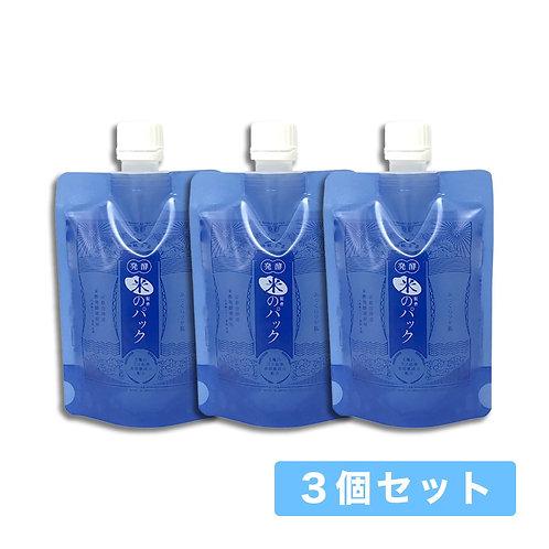 【送料無料】和肌美泉 発酵・米配合のパック 150g x 3個セット