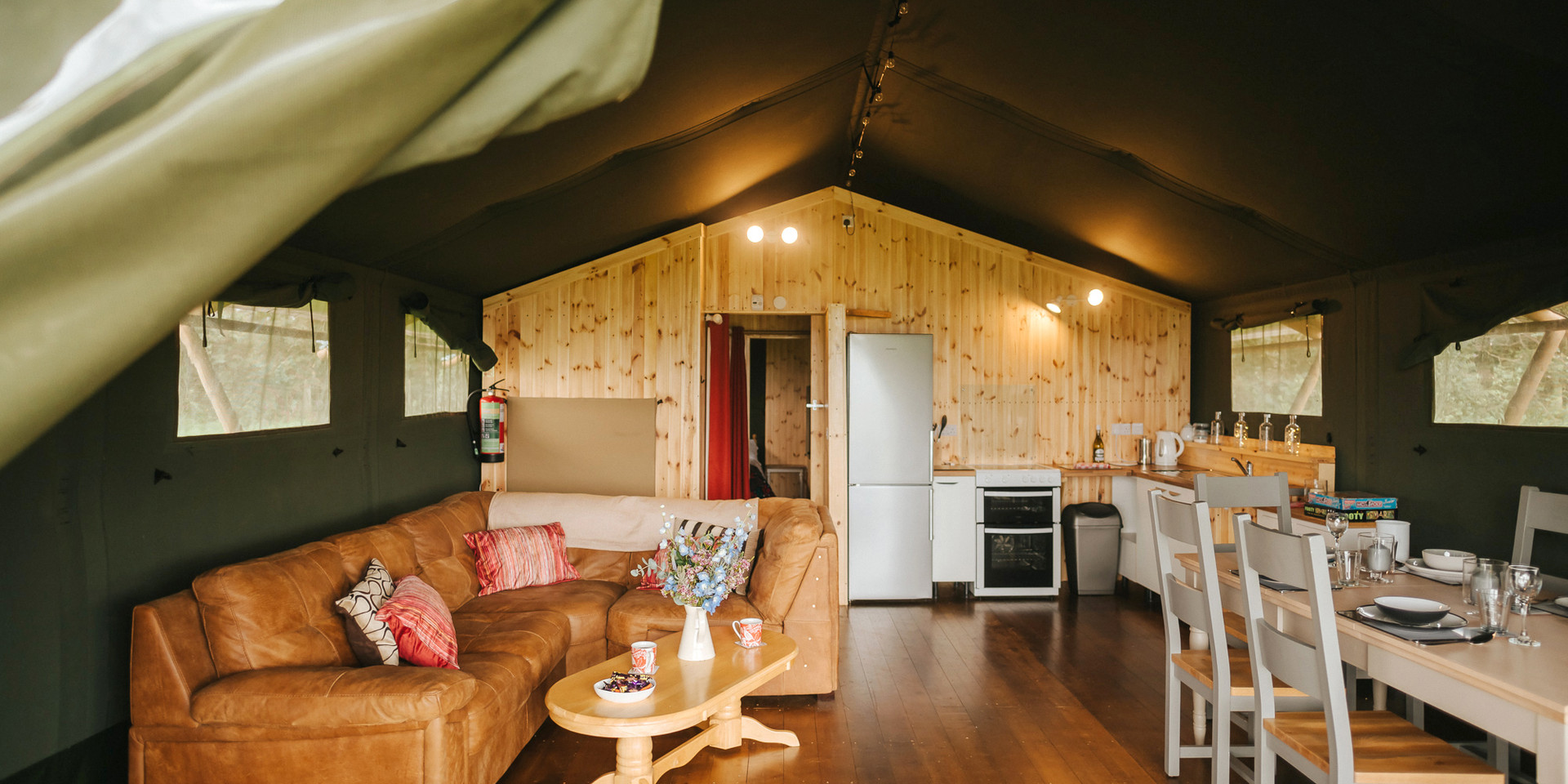 luxury camping holidays gower south wales uk
