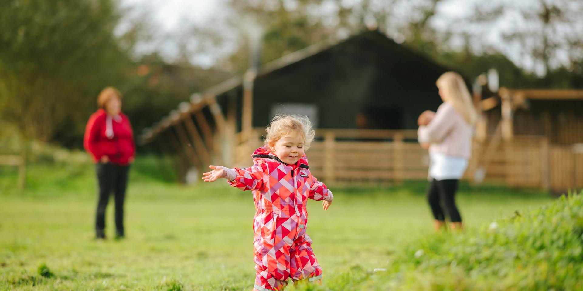 child friendly glamping camping holidays