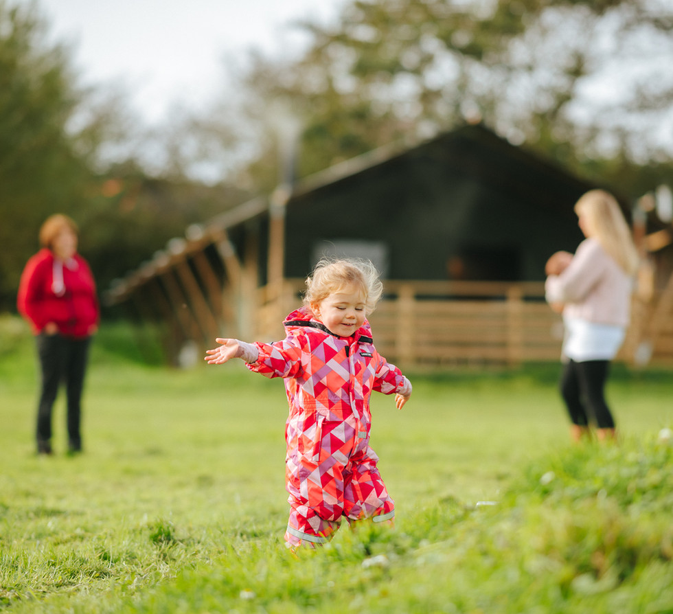 child friendly glamping camping holidays