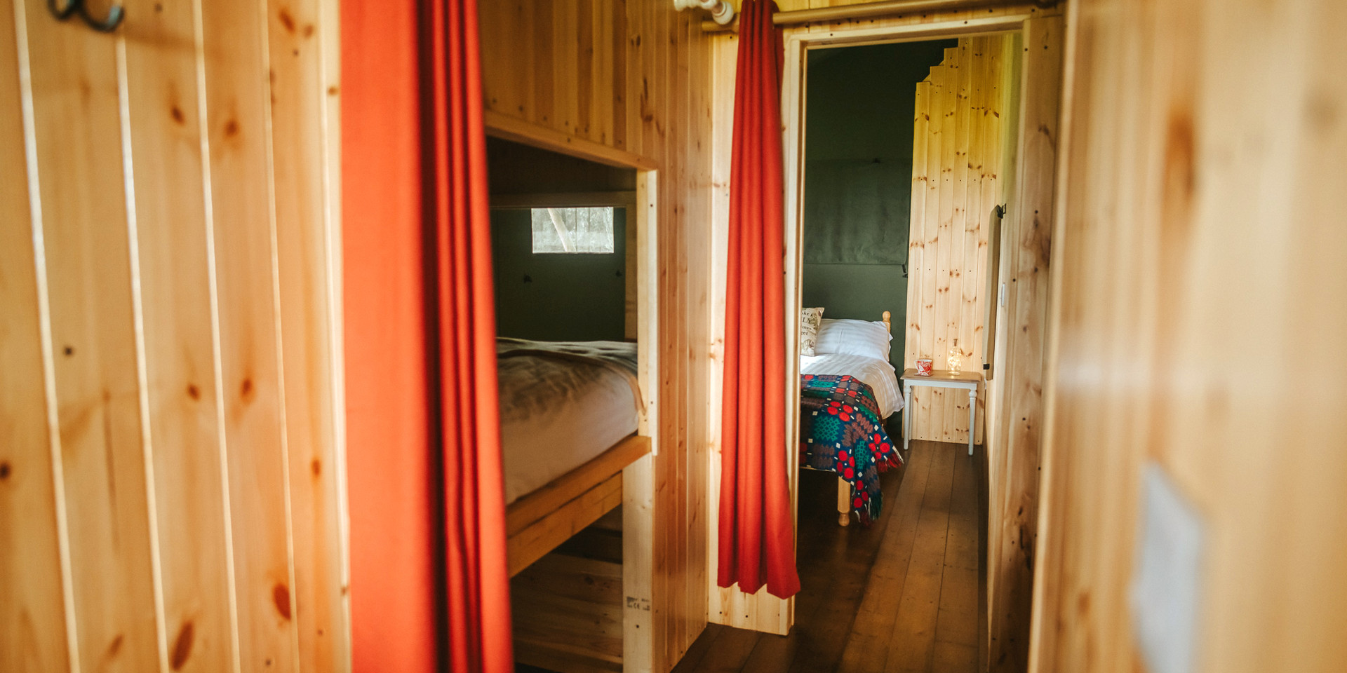 safari tents with bedrooms and bathrooms