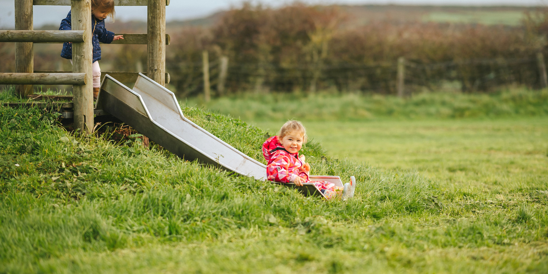 camping with childrens play area Gower n
