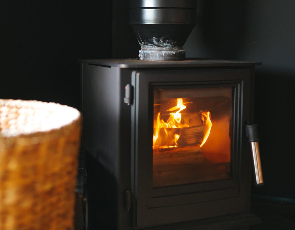 wood burners glamping near llangennith t
