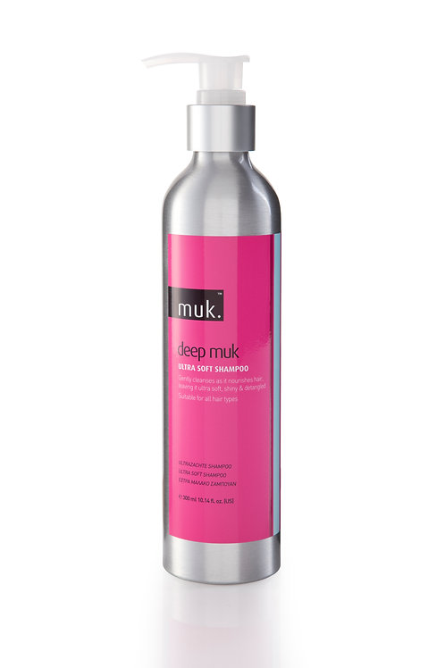 muk. DEEP MUK ULTRA SOFT SHAMPOO 300ml