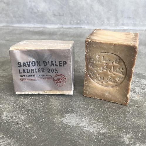 SAVON D'ALEP Olive and Laurel Oil Soap – 20% Laurel oil, 200g