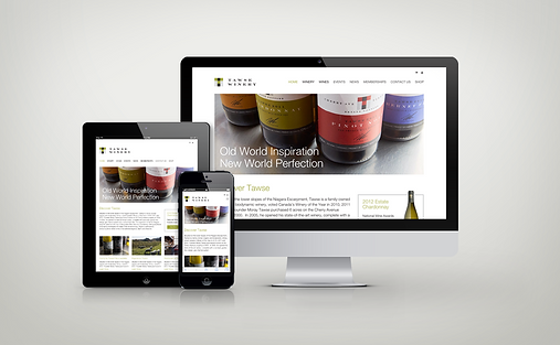 Tawse Winery Homepage