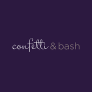Confetti & Bash Party Planning Logo