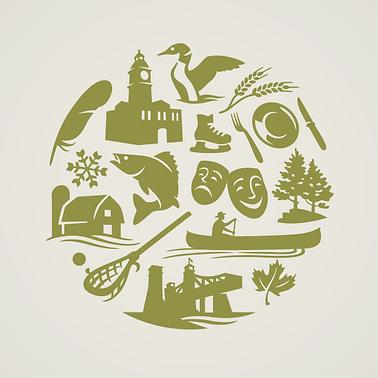 Peterborough & Kawathas Tourism Logo