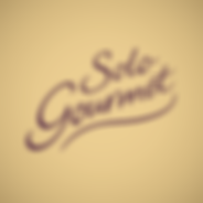 Solo Gourmet Pizza - Custom Lettering