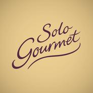 Solo Gourmet Pizza - Custom Lettering