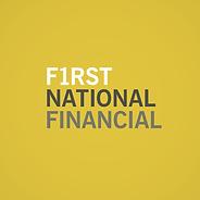 First National Logo Design Concept