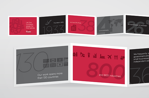 MDD Folding Collateral Design