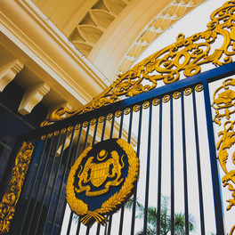 The Golden Gates - Istana Negara