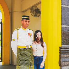 The Cladded Guard - Istana Negara