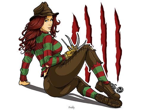 Freddy - 8.5x11 Print