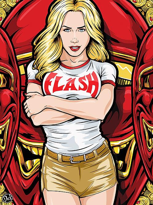 Flash - 9x12 Print