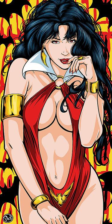 Vampirella - 9x18 Print