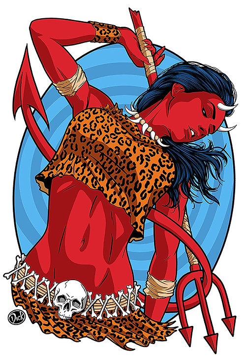 Amazon Hellcat - 13x19 Print