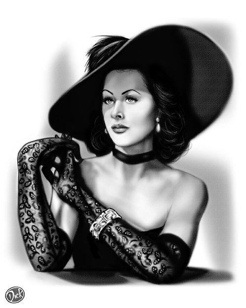 Heddy Lamar  8x10 Print