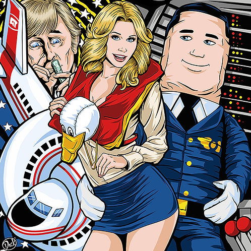 AIRPLANE! - 12x12 Print