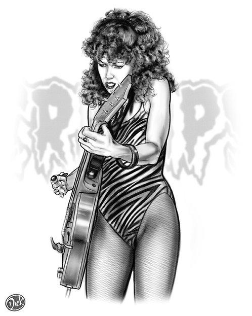Poison Ivy 8x10  Print