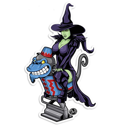 'Elphaba' Sticker