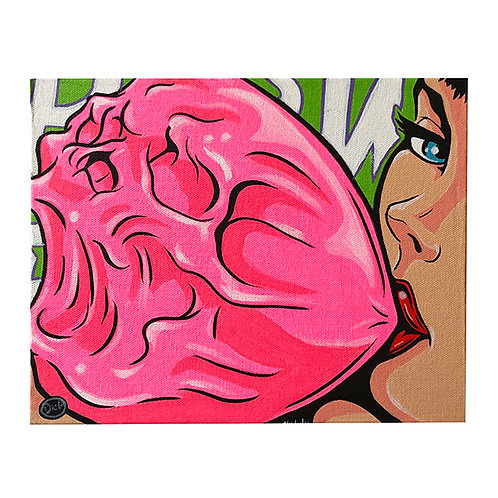 'Blow #2' - Original Dick Painting