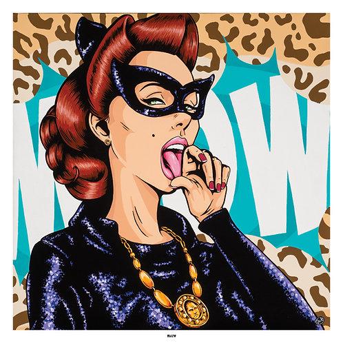'Meow' - Print