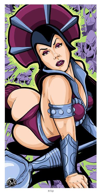 Evil Lyn - 8x15 Print