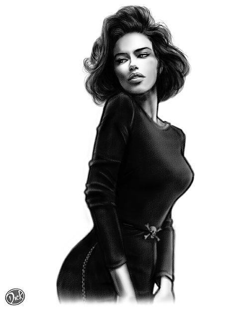 Adriana Lima 8x10  Print