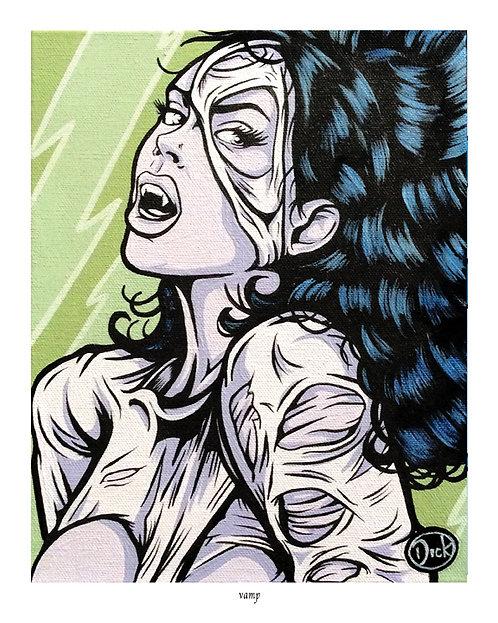 'Vamp' - 8x10 Print
