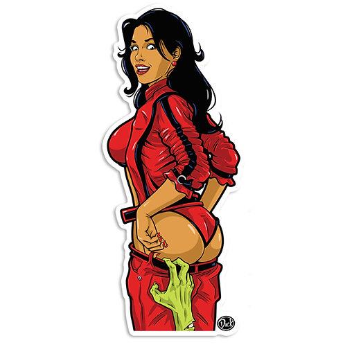 'Thrillerl' Sticker